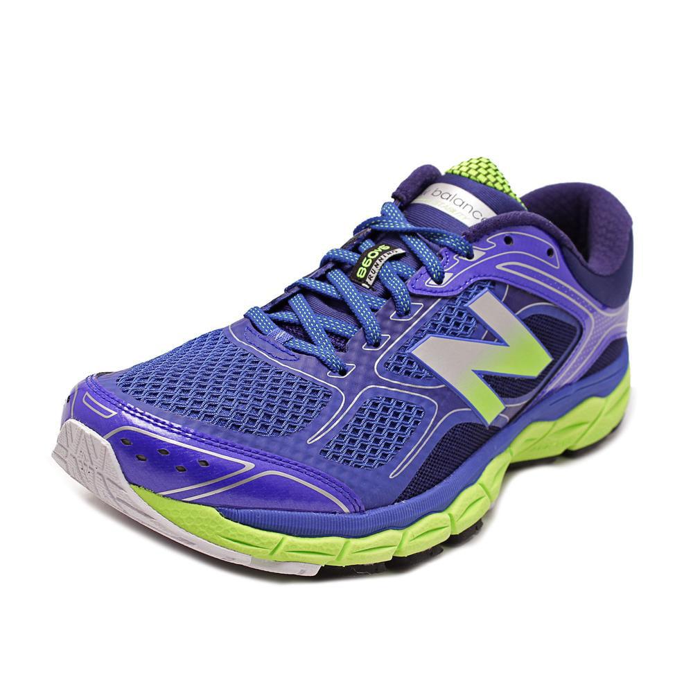 New Balance M860 Men  Round Toe Synthetic Blue Running Shoe