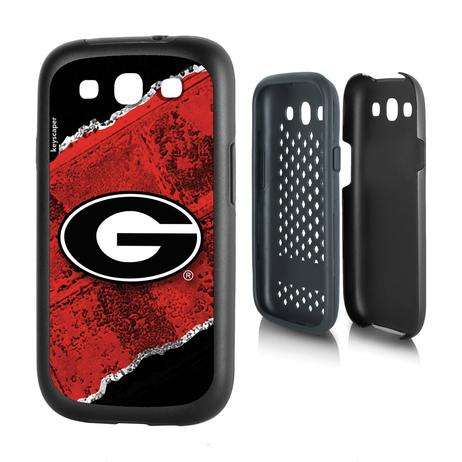 Georgia Bulldogs Galaxy S3 Rugged Case