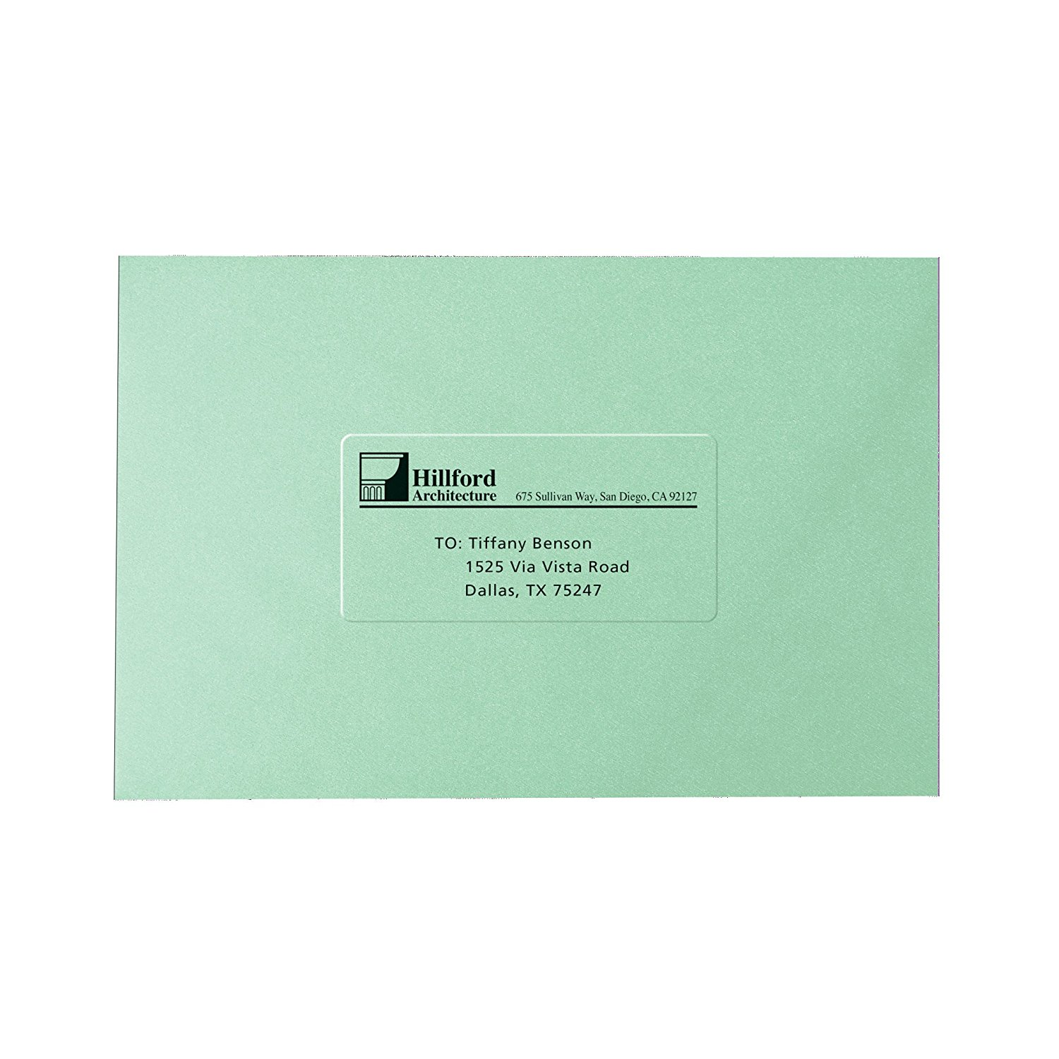 Clear Easy Peel Shipping Labels for Laser Printers 2\