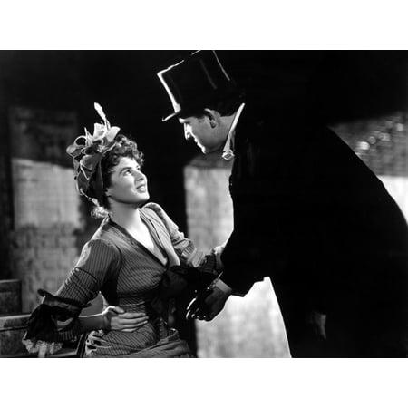 Dr Jekyll And Mr Hyde Ingrid Bergman Spencer Tracy 1941 Photo (Bergman Antique)