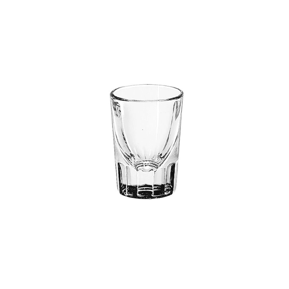 Libbey Glassware 5126 Fluted Whiskey Glass, 2 oz. by Libbey Glass