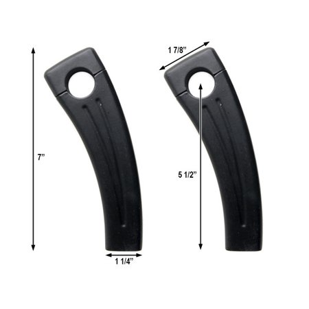 """5.5"""" Black Motorcycle Handlebar Pullback Risers For Victory Vision Street Tour - image 1 of 4"""