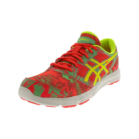 Asics 33-Dfa 2 Gs Diva Pink / Flash Yellow Spring Bud Ankle-High Running Shoe - 5M Spring Running Shoes