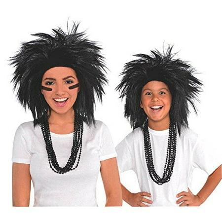Wig Crazy Black