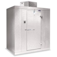 "Nor-Lake KLB8766-C Walk In Cooler 6'x 6'x 8'7"" Indoor 35°F w/ Floor"