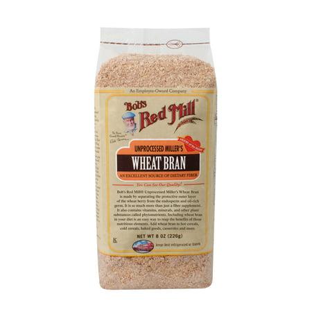 Bobs Red Mill Wheat Bran, 8 Oz