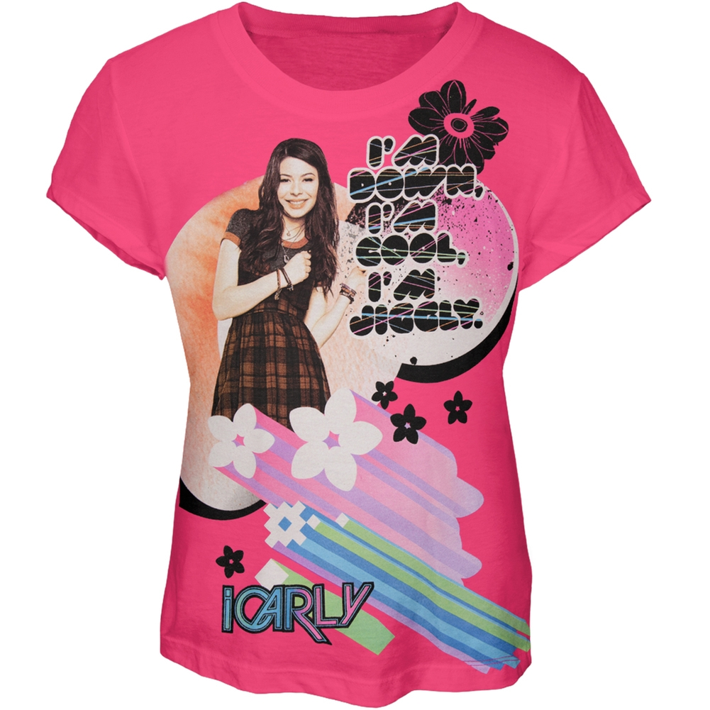 iCarly - I'm Jiggly Carly Girls Youth T-Shirt