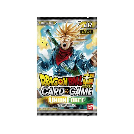 Dragon Ball Z Super Union Force Booster Pack Trading Card Game