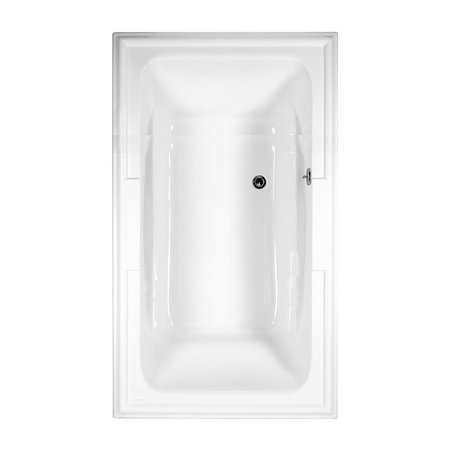 American Standard Town Square Soaking Bathtub 2742.002.020 White American Standard Acrylic Oval Tub