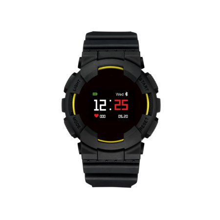 0.95 Inch Colored Screen bluetooth 4.0 Waterproof Heart Rate Blood Pressure Monitor Smart Watch Fitness Tracker bluetooth Bracelet Wristband For Android IOS Outdoor Christmas