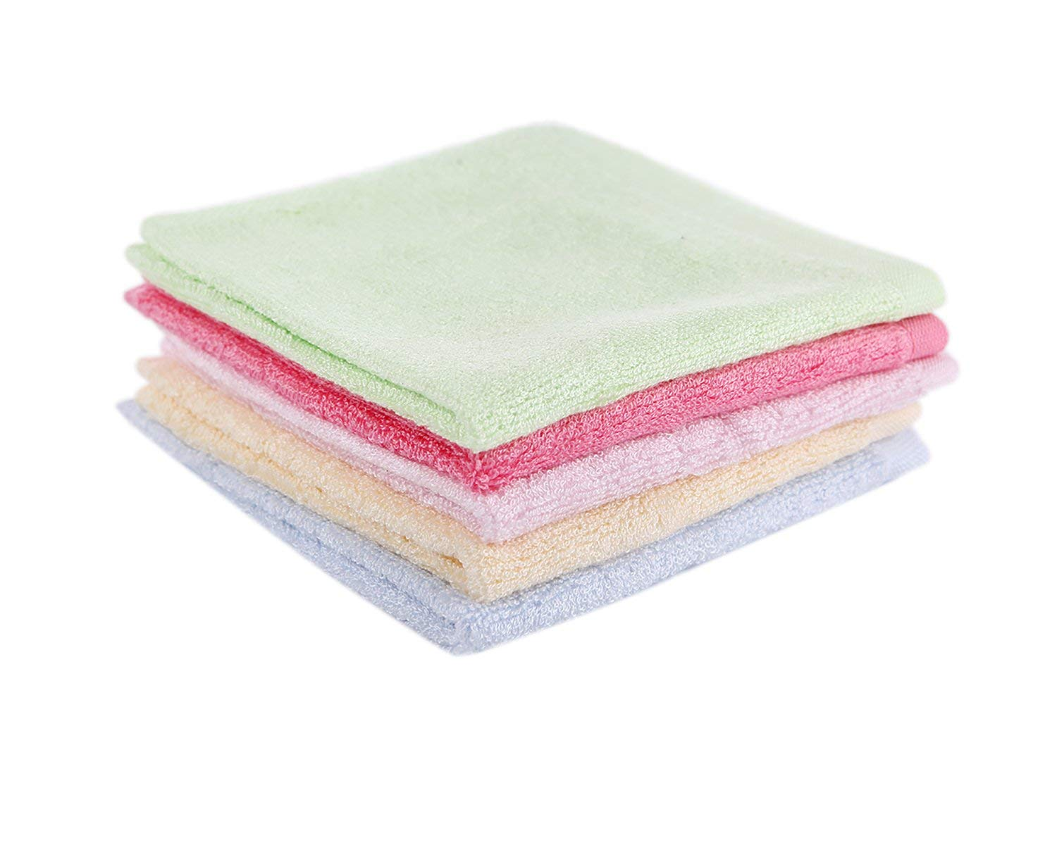 Taprilt Antibacterial 100% Bamboo Washcloths Face Cloths Hypoallergenic Sensitive Skin Baby Wipes Suitable for by Taprilt