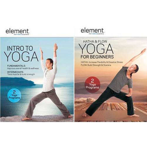 Element: Intro To Yoga / Element: Hatha & Flow Yoga For Beginners (Walmart Exclusive) (Widescreen, WALMART EXCLUSIVE)