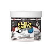 Flex Paste, Super Thick Rubber Spreadable Paste, White 1lb Tub