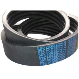 D&D PowerDrive B128/12 Banded Belt  21/32 x 131in OC  12 Band