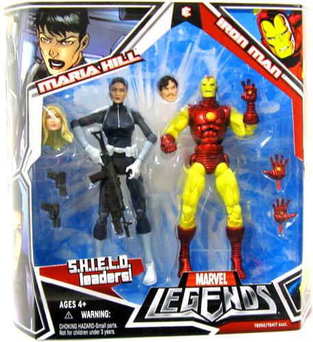 Marvel Legends Iron Man & Maria Hill Action Figure 2-Pack for $<!---->