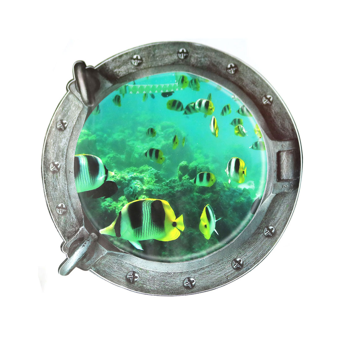 3D Vinyl Undersea World Removable DIY Home Living Room Decor Wall Art Sticker Decal