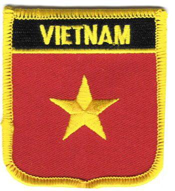 Vietnam Shield Patch