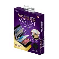 Wonder Wallet - Amazing Slim Genuine Leather Wallet w/RFID Protection, As Seen On TV