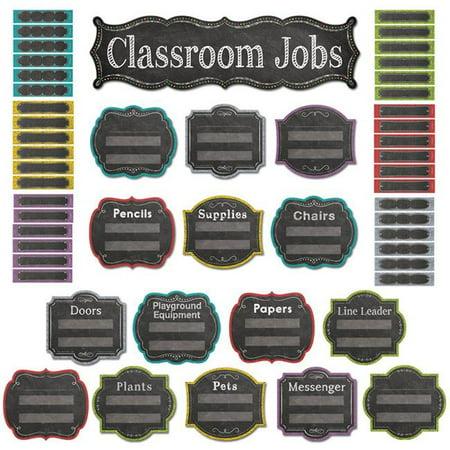 Creative Teaching Press CTP6969BN Chalk It Up Classroom Jobs Mini Bulletin Board Set - Set of 3](Classroom Bulletin Board Sets)