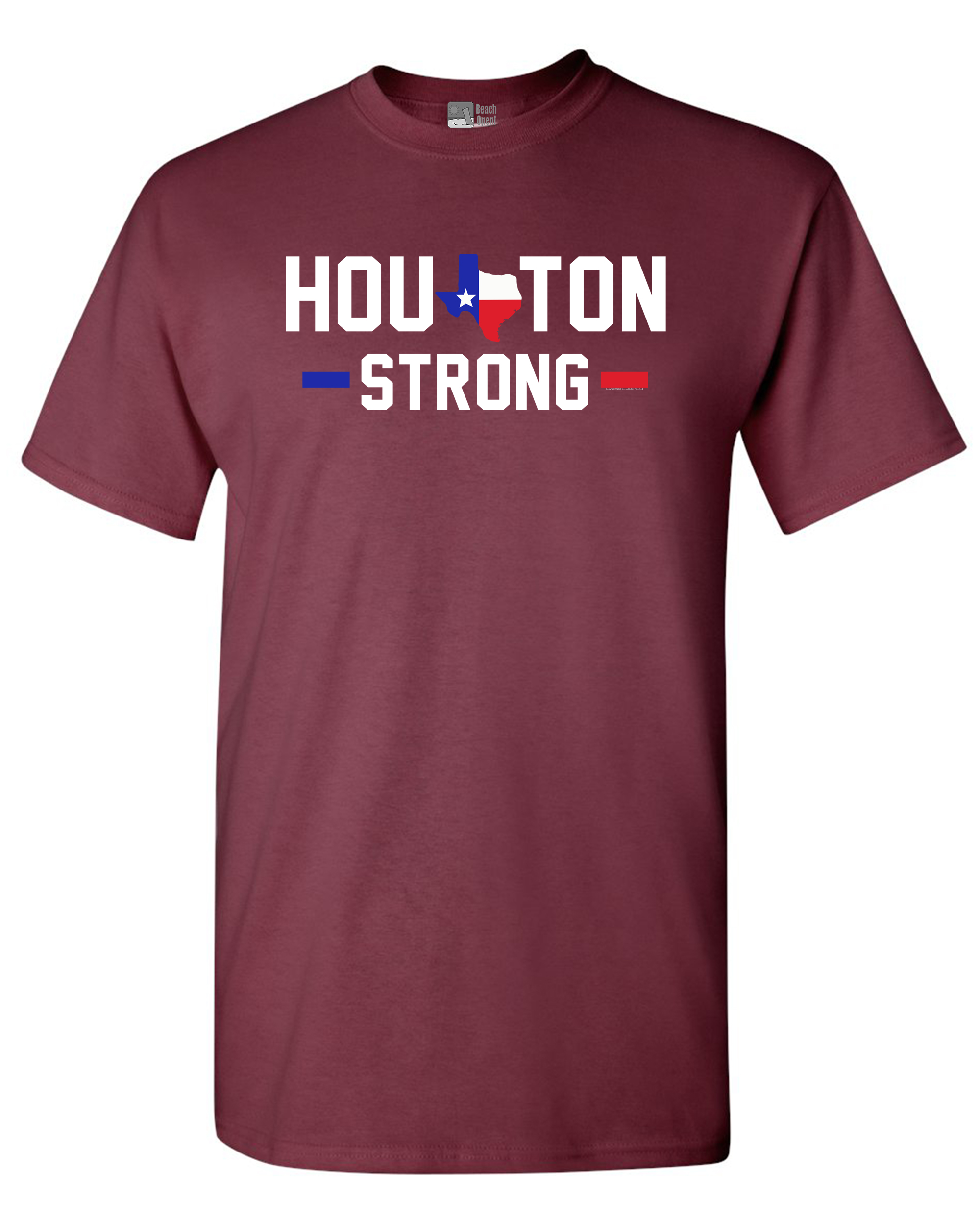 Houston Strong Map 2017 Survivor DT Adult T-Shirt Tee