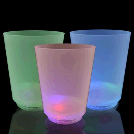 Multicolor LED Glow Cups Small