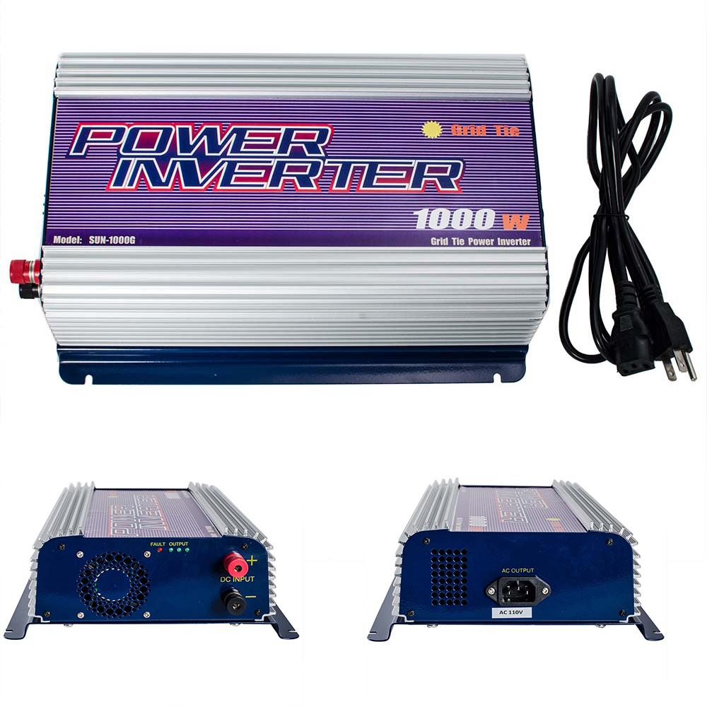 Click here to buy iMeshbean 1000W DC 45V-90V Grid Tie Power Inverter Stackable for Solar Panel System Pure Sine Wave by iMeshbean.