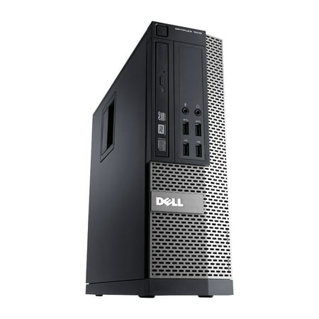 Refurbished - Dell OptiPlex 7010, SFF, Intel Core i3-3220 up to 3.30 GHz, 4GB DDR3, 250GB HDD, DVD-RW, Win10 Pro 64 - image 1 of 3