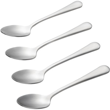 BonJour Coffee Accessories Stainless Steel Espresso / Demitasse Spoon Set, 4-Piece