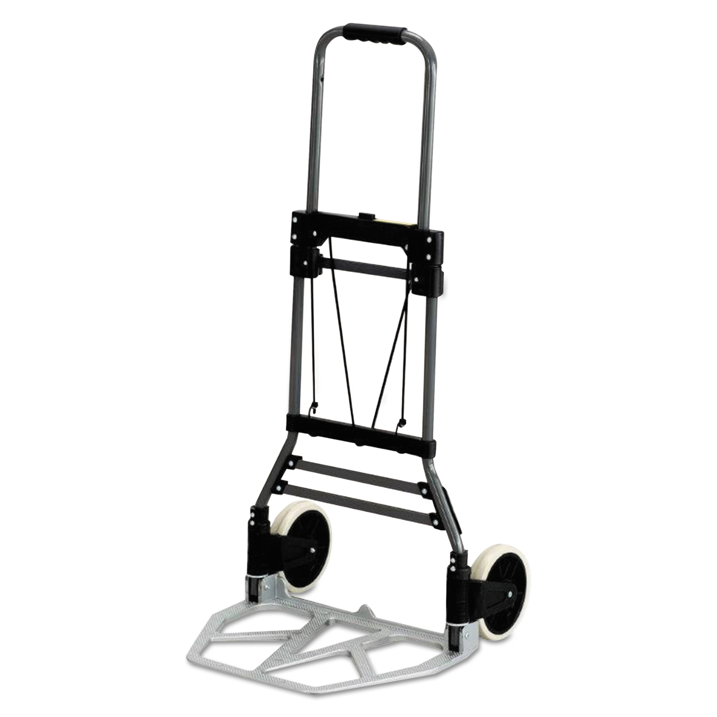 Safco Stow-Away Medium Hand Truck, 275lb Capacity, 19w x 17 3 4d x 38 3 4h, Aluminum by Safco Products