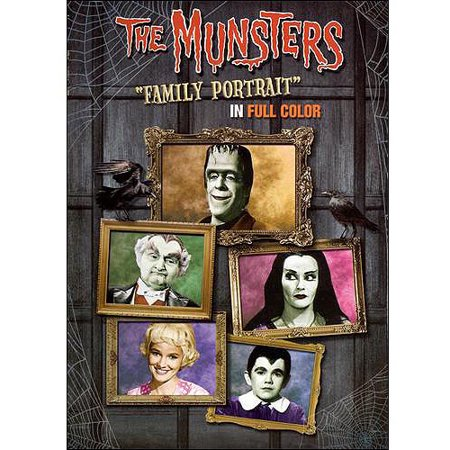 Halloween Family Portraits (The Munsters: Family Portrait)