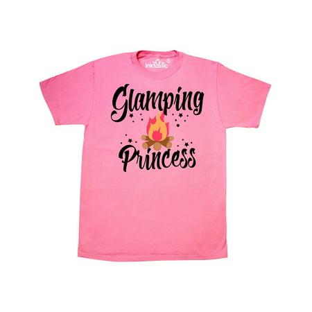 Glamping Princess with Campfire T-Shirt](Glamping Ideas)
