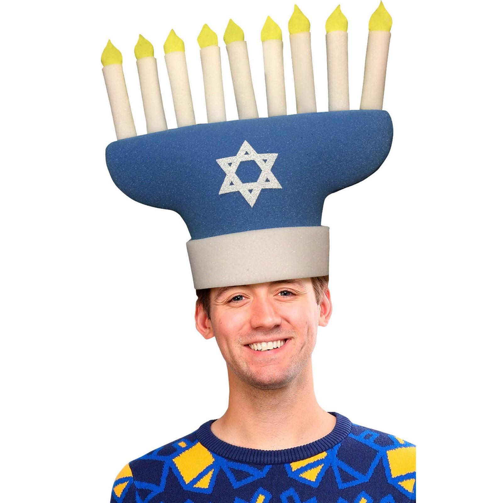 Hanukkah Adult Hat