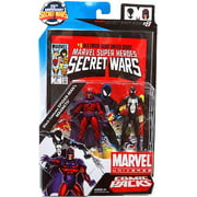 Marvel Universe Magneto & Black Costume Spider-Man Action Figure 2-Pack