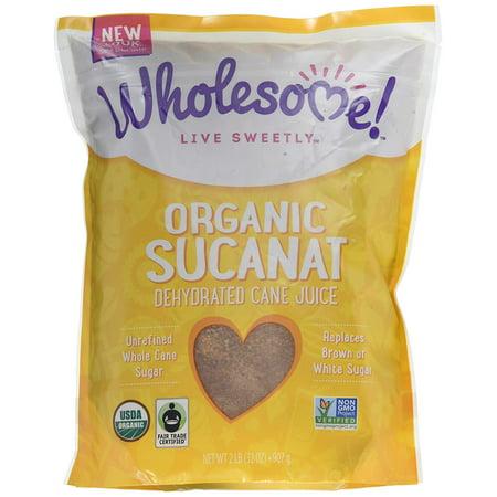 Wholesome Sweeteners Organic Sucanat, 32 oz. (Pack of 12)