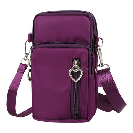 Cell Phone Pouch, EEEKit Waterproof Cellphone Purse Crossbody Shoulder Bag Armband with Detachable Strap for iPhone XS Max XR 8 Plus Galaxy S10 S10+ S9 S9+ Note 8 9 &