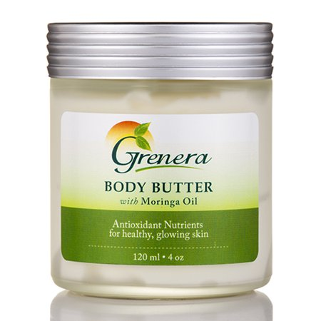 body butter with moringa oil 4 oz 120 ml by grenera nutrients. Black Bedroom Furniture Sets. Home Design Ideas