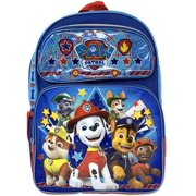"""Backpack - Paw Patrol - Paw Team Blue 16"""" New 001434"""