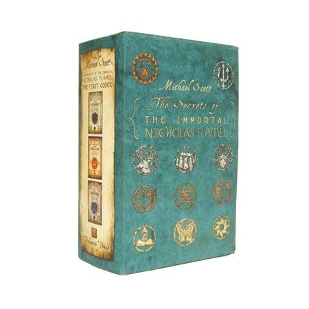 The Secrets of the Immortal Nicholas Flamel Boxed Set (The Alchemist Immortal Secrets Of Nicholas Flamel)