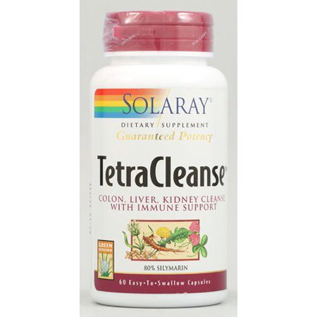 Tetra Cleanse Solaray 60 Caps