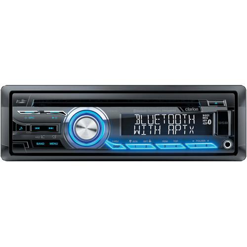 Clarion CZ305 Single-DIN CD/USB/MP3/WMA Receiver with Bluetooth and Pandora Internet Radio