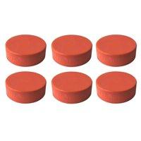 A&R Sports Weighted Training Hockey Pucks, 6-Pack, Orange
