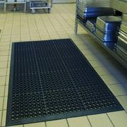 Zimtown 2pcs large size Rubber Entrance Scraper Doormat Entrance Rug Indoor/Outdoor Door Mat Kitchen Floor Mats for Home