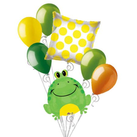 18-Inch Happy Frogs Shaped Balloon - Frog Pinata