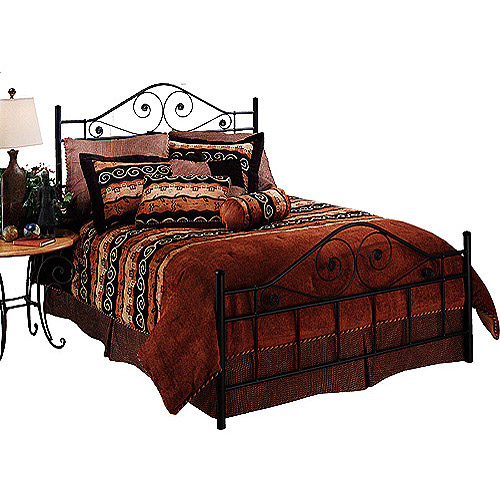 Hillsdale Furniture Harrison Queen Bed, Black