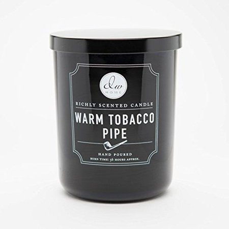 DW Home Large Double Wick Candle, Warm Tobacco Pipe (Dw Candles Halloween)