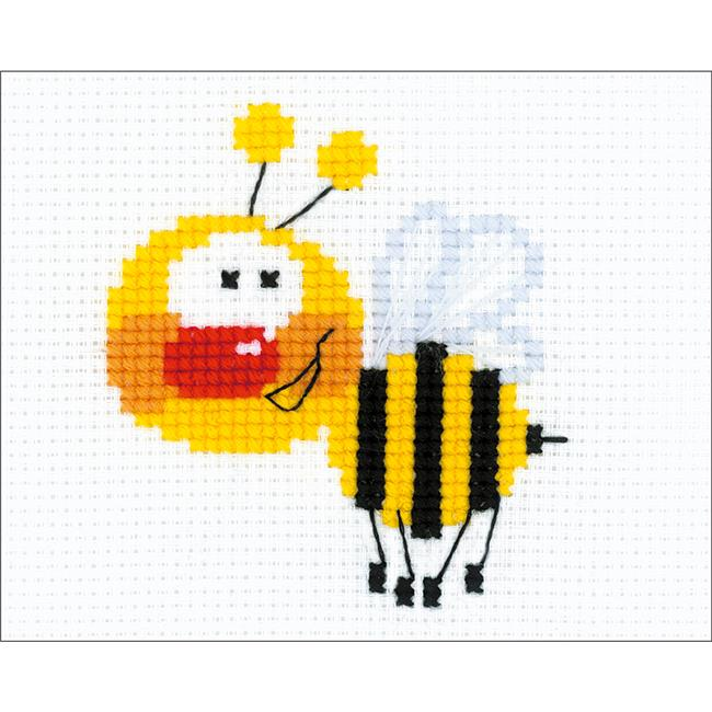 Little Bee Counted Cross Stitch Kit