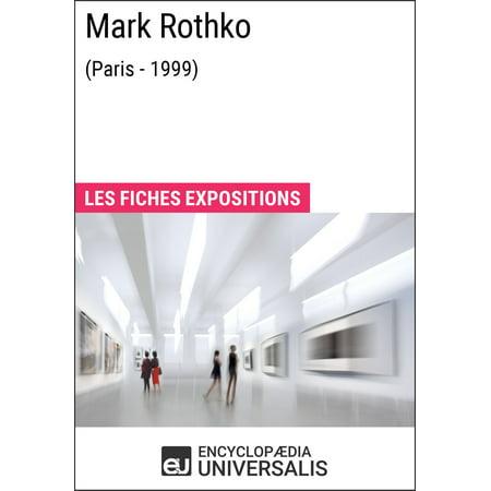 Mark Rothko (Paris - 1999) - eBook
