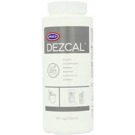 Urnex Dezcal Coffee and Espresso Machine Descaler Activated Scale Remover, 900g
