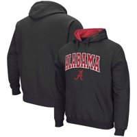 Alabama Crimson Tide Colosseum Arch & Logo Pullover Hoodie - Charcoal