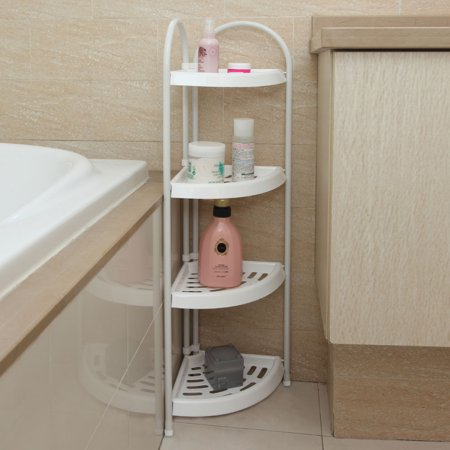 Zimtown 4 Tier Corner Bath Caddy Rack Holder Shelf Shower ...